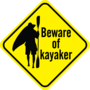 Beware of kayaker