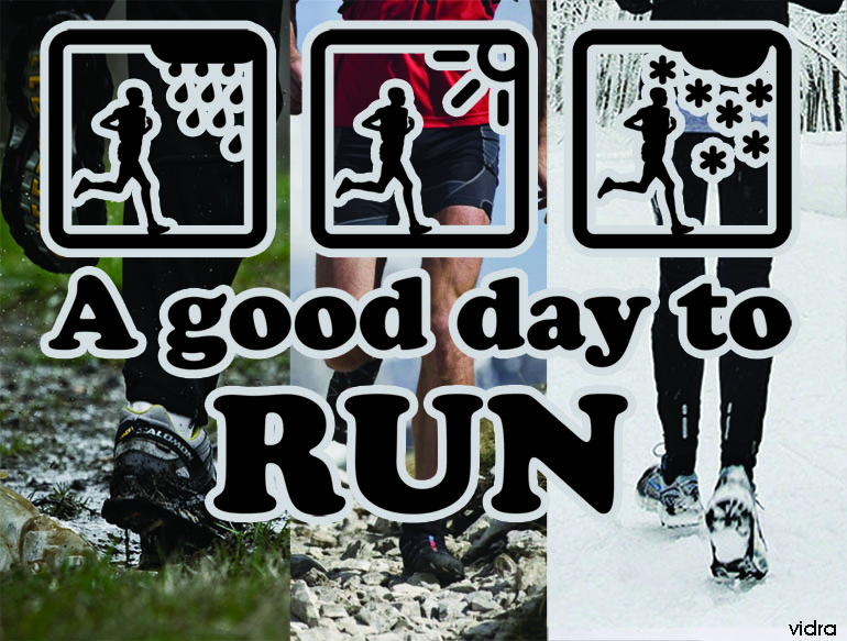 A good day to run